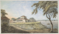 House at Ghazipur which Lord Cornwallis inhabited at the time of his death.